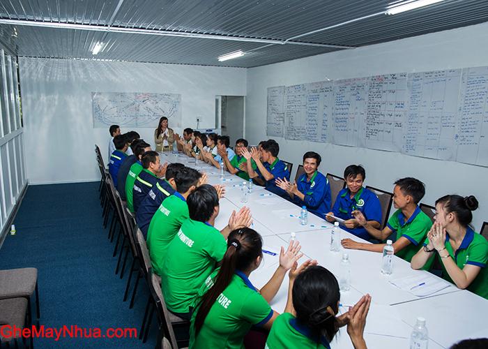 Phòng họp Minh Thy Furniture