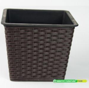 Chậu Trồng Cây Tự Dưỡng Nhựa Đan Vuông – NV20