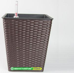 Chậu Trồng Cây Tự Dưỡng Nhựa Đan Vuông – NV26H24