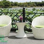 Cách bảo quản và chăm sóc sản phẩm bàn ghế nhựa giả mây