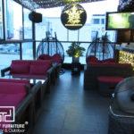 King Karaoke(King Rooftop Coffee) chọn Minh Thy Furniture là nhà cung cấp sofa mây nhựa