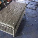 Video đan bàn sofa nhựa giả mây MT1A9 tại xưởng đan mẫu Nội thất Minh Thy