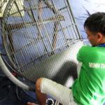 Video hướng dẫn đan ghế hồ bơi nhựa giả mây MT426 tại xưởng Minh Thy Furniture