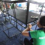 Video đan ghế hồ bơi mây nhựa tại xưởng đan mẫu Minh Thy Furniture