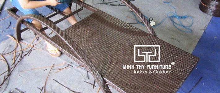 Ghế nằm bể bơiMT488 được tạo thànhnhư thế nào?