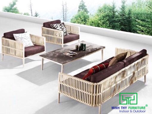sofa may nhua san vuon MT1A75